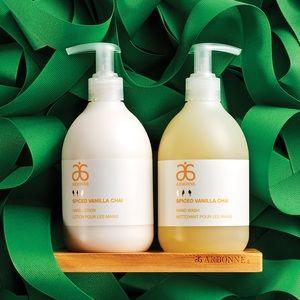 Arbonne Hand Soap and Lotion Set